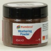 Humbrol AV0017 Dark Earth Weathering Powder